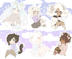 dreamy adopts! closed by cueen