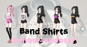 Band shirts by School-shooter by School-shooter