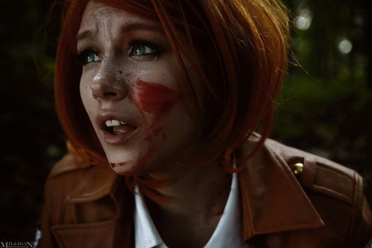 Attack on Titan - Petra Ral - No! by MilliganVick