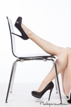Chair Legs by Photopersuasion