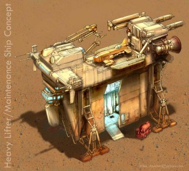 Heavy Lifter Concept by MikeDoscher