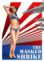 Skin-V 10: The Masked Shrike by Agent-Foo