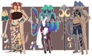 Guest Adopt Lockettes (Closed) by LadyWhinesAlot