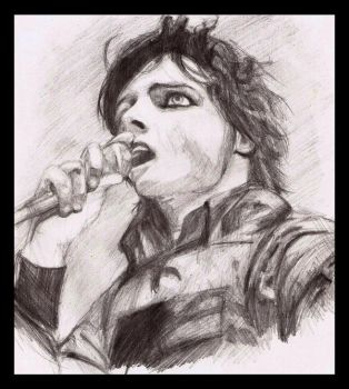 Gerard Way II by cafeinne