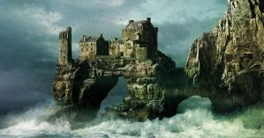 Matte Painting - Castle Geard by anderpeich