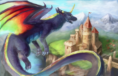 Castle Attack! by R8A-creations