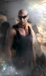Richard B. Riddick by Fanat08