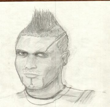 Quick sketch: Vaas by flameguitarcody
