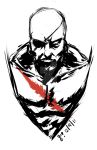 Sagat Sketch by mazingerpip