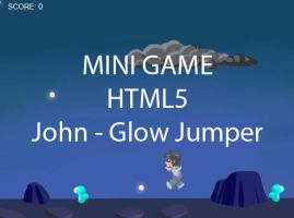 HS minigame HTML5 - John - Glow Jumper by ChibiEdo