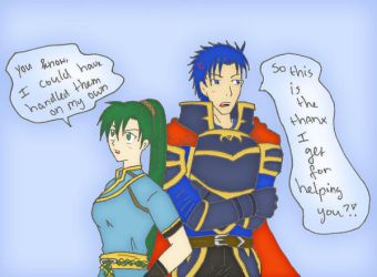 Lyn and Hector by SparxPunx