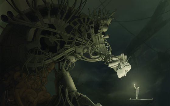Beholder - WideScreen by DarkPsychosis