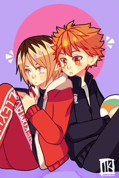 Haikyuu!!-Small cuties by BottleWonderland