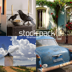 Stock Pack (5) by IremSezen