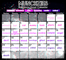 [CLOSED] Munchzies Halloween Advent 2016 by BoozeDoll