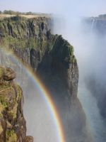 Rainbow At Victoria Falls by kytkat