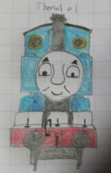 Thomas the tank engine #1 by shanedooleynumber5