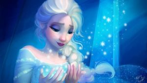 Disney Redraw: Elsa by MelodyMoore