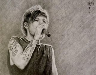 Louis Tomlinson by Lydiart95