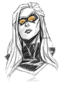 Mockingbird - iPad Sketch by Archymedius
