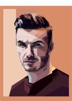 david beckham popart by opparudy