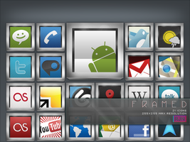 :F:ramed iconset by RJNavarrete