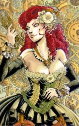 Steampunk Poison Ivy by tepaipascual