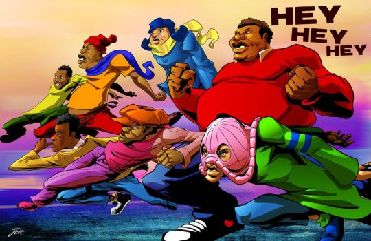 Fat Albert and the gang by Styleuniversal