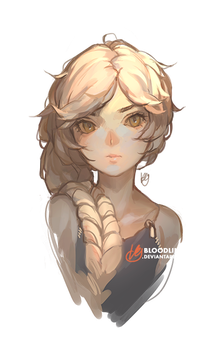 Speedpaint commission sample by BloodlineV