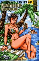 Chun Li Swimsuit sketch cover by gb2k