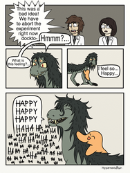 SCP-682 and SCP-999 page 3 by HypernovaRain