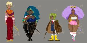 Witch Adopts (CLOSED) by chocoube