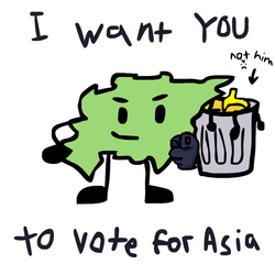 Vote Asia to win BUTTWOA! :D by 11111111211123