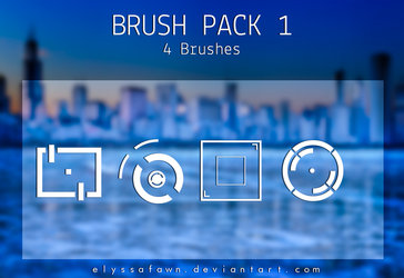Geometric Style Brushes. by elyssafawn