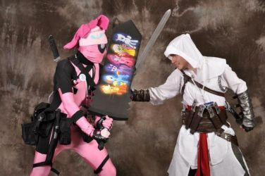 Altair vs Pinkie Pool by ForteZX