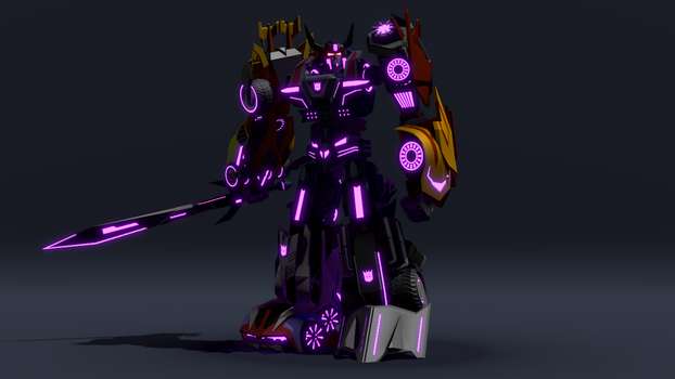 War for Cybertron Menasor by ShadowElite217