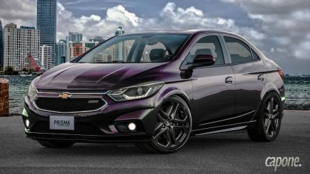 Chevy Prisma SS (proto) by CaponeDesign