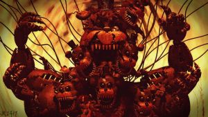 Abomination and infection (fnaf sfm) by JR2417