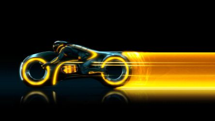 Tron Legacy Wallpaper by mininudoidu