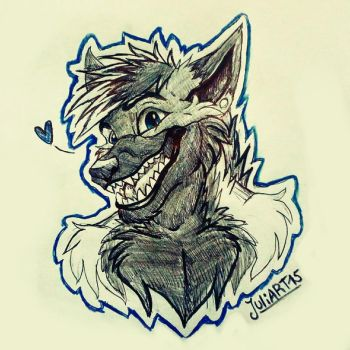 .:TheChubsterWolfie:. comission by JuliArt15