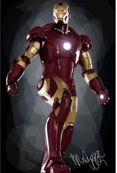 Ironman Vector by expoised