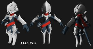 3D: Chibi Knight WIP by Garm-r