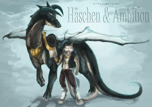 Haschen and Ambition by riard
