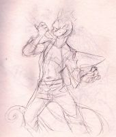 Early Sketch of Axl by AxlReigns