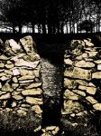 path through a charnwood wall by graphic-rusty