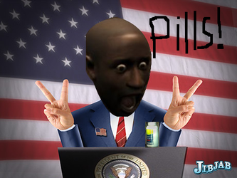 Louis for president by TheRandomGuy