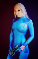 Zero Suit Samus Cosplay by Dragunova-Cosplay