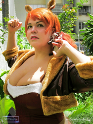 Squirrel Girl Cosplay Comission by danidarkan