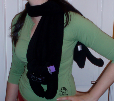 Another Cat Scarf by Ishtar-Creations