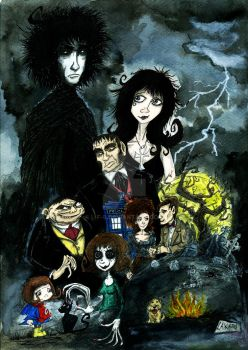 Sandman and the pals by L-F-S